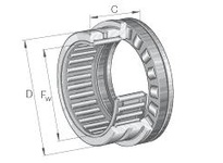 INA NKXR17Z Combination bearing