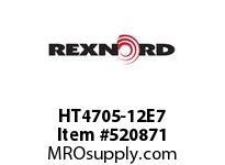REXNORD HT4705-12E7 HT4705-12 E7-5/16D 148885