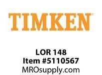 TIMKEN LOR 148 SRB Pillow Block Component