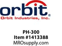 Orbit PH-300 PIPE HANGER WITHOUT BOLT #7 3^