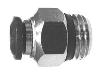 MRO 20634N 8MM OD X 1/4 MIP ADAPTER N-PLTD