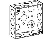 Orbit 4SB-50 4S BOX 1-1/2^ DEEP 1/2^ KO
