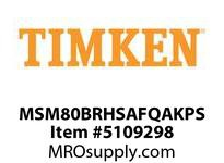 TIMKEN MSM80BRHSAFQAKPS Split CRB Housed Unit Assembly