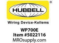 HBL_WDK WP700E W/P CVR1-G1.55^ & 2.10^  CAST A