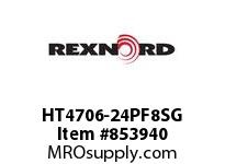 REXNORD HT4706-24PF8SG HT4706-24 F2 T8P S3 N1.25