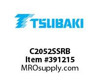 US Tsubaki C2052SSRB C2052SS 304 Stainless Steel RIVETED 10'