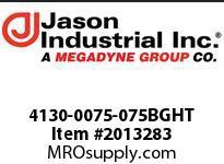 Jason 4130-0075-075BGHT 3/4 X 75 COUPLED GHT BRASS