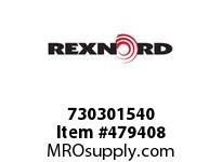 REXNORD 153848 730301540 30 HCB 40MM H7 BORE