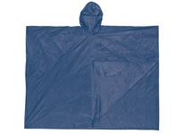 MCR O43 Schooner .10mm PVC Disposable Poncho Single Ply Blue