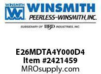 WINSMITH E26MDTA4Y000D4 E26MDTA 25 L 56C WORM GEAR REDUCER