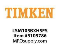 TIMKEN LSM105BXHSFS Split CRB Housed Unit Assembly