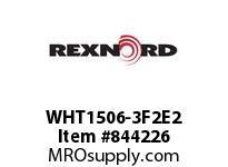 REXNORD WHT1506-3F2E2 WHT1506-3 MTW F2 T2P N.75