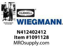 WIEGMANN N412402412 N412SD3040X24X12