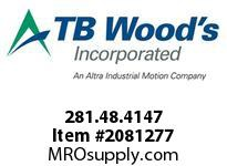 TBWOODS 281.48.4147 VARITORK CLUTCH 48 5/8 --3/4