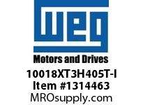 WEG 10018XT3H405T-I 100HP 1800 60 575 XP - Nema Pr