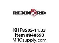 REXNORD KHF8505-11.33 KHF8505-11.33 KHF8505 11.33 INCH WIDE MATTOP CHAI
