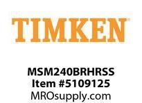 TIMKEN MSM240BRHRSS Split CRB Housed Unit Assembly