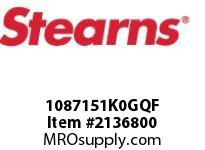 STEARNS 1087151K0GQF BRAKE ASSY-INT 281032