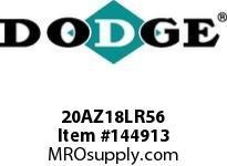 DODGE 20AZ18LR56 TIGEAR-2 E-Z KLEEN REDUCER