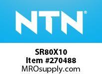 NTN SR80X10 PLUMMER BLOCKS