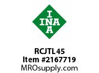 INA RCJTL45 Two-bolt flanged unit