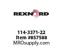 REXNORD 114-3371-22 CT LPC279K325 R500 U-R SP CORNER TRACK LPC279K3.25 500MM CENT