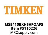 TIMKEN MSE415BXHSAFQAFS Split CRB Housed Unit Assembly