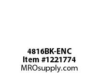 WireGuard 4816BK-ENC FLUSH COVER AND BARRIER KIT FOR SCREW COVER ENCLOSURES