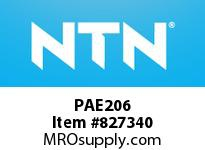 NTN PAE206 Bearing Units - Cast Housing