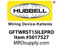 HBL_WDK GFTWRST15ILEPRO 15A COM SELF TEST TRWR EPRO GFR IVORY