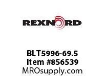 REXNORD BLT5996-69.5 BLT5996-69.5 BLT5996 69.5 INCH WIDE MATTOP CHAIN