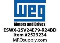 WEG ESWX-25V24E79-R24BD XP STRTR N79 1HP@460V 230VCoil Panels