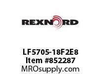 REXNORD LF5705-18F2E8 LF5705-18 F2 T8P