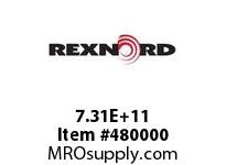 REXNORD 146033 731402635084 140 HCB 134.9492MM BORE