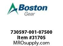 "BOSTON 78044 730597-001-07500 ROTOR 1 0.7500"" MTO"