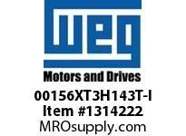 WEG 00156XT3H143T-I 1.5HP 3600 60 575 XP - Nema Pr