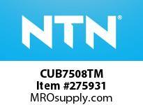 NTN CUB7508TM CYLINDRICAL ROLLER BRG