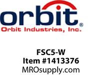 Orbit FSC5-W SLIDE FAN SPEED CONTROL SINGLE POLE FULLY VARIABLE 120V 5A