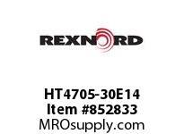 REXNORD HT4705-30E14 HT4705-30 E14-3/16C 1/8E