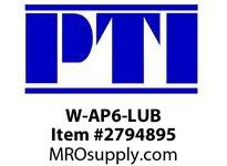 PTI W-AP6-LUB RE-LUBE FLANGE PLATE W/SHIM W1- WINKEL BEARINGS & RAIL
