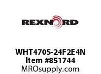 REXNORD WHT4705-24F2E4N WHT4705-24 F2 T4P WHT4705 24 INCH WIDE MATTOP CHAIN W