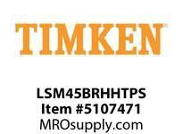 TIMKEN LSM45BRHHTPS Split CRB Housed Unit Assembly