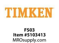 TIMKEN FS03 Split CRB Housed Unit Component