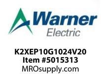 Warner Electric K2XEP10G1024V20 WL001BB045JBAC0040 K2XEP1.0G10-24V-20