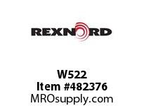 REXNORD 6189685 W522 WASHER