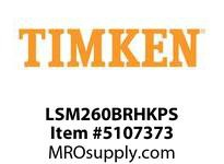 TIMKEN LSM260BRHKPS Split CRB Housed Unit Assembly