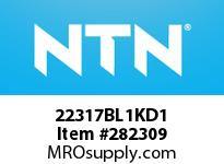 NTN 22317BL1KD1 SPHERICAL ROLLER BRG