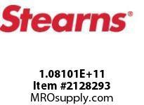STEARNS 108101202101 BR-RL TACH MACHSPLN HUB 8003694