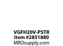 CPR-WDK VGFH20V-PSTR GFCI HG Deco Duplex 20A125V StrandedLead