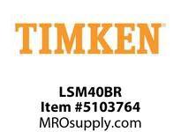 TIMKEN LSM40BR Split CRB Housed Unit Component